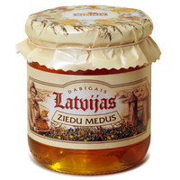 Latvian natural blossom honey