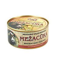 Canned Wild boar meat