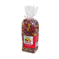 Candied big cranberries and quinces, 1kg in plastic bag