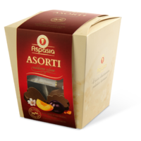ASPASIA assorted in dark chocolate