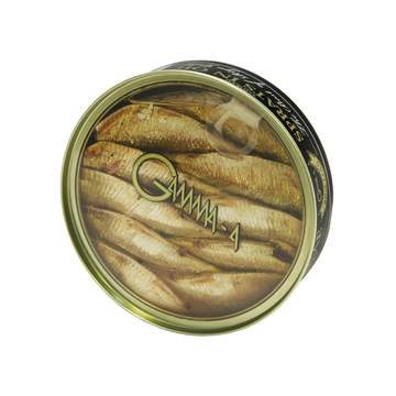 "SMOKED SPRATS IN OIL ''THE BEST OF RIGA GOLD"" 120G"