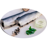 PICKLED HERRING FILLET (WITH SKIN)