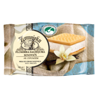 """FARMER`S"" MILK ICE CREAM IN CRUNCHY WAFER TUBE 130 ML"