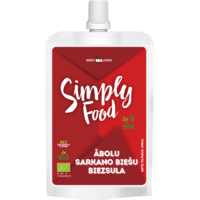 "Apple, beetroot pulp juice ""Simply Food"""