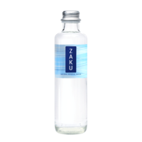 Natural mineral water ZAKU 250 ml Still Glass