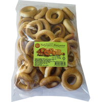Milk dry bread-rings