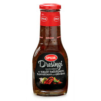 Salad dressing with sun dried tomatoes and olives
